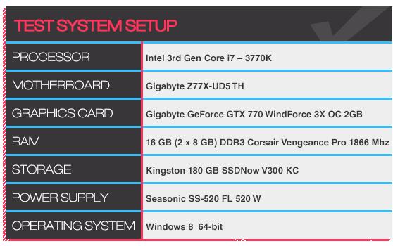 Test System Setup