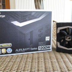 FSP Aurum PT 1200W Unboxing & Preview