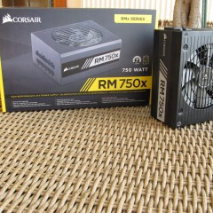 Corsair RMx Series RM750x Unboxing & Preview