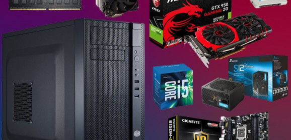 Silent Skylake – Gaming PC under $650 – November 2015